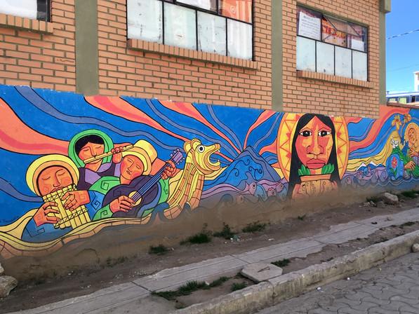 Fresque à Copacabana