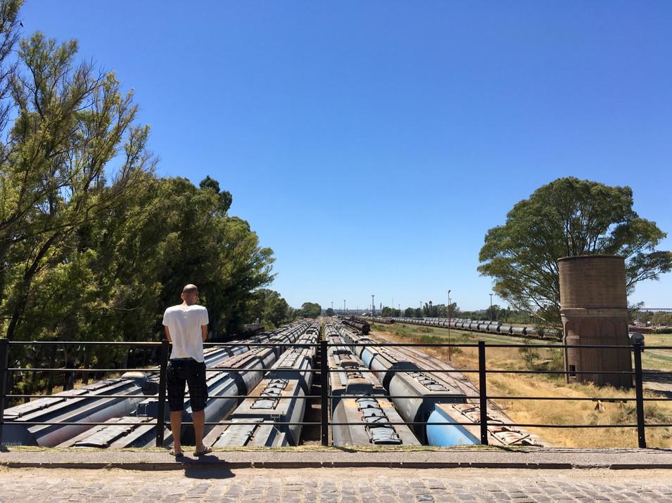 Des trains et un arrière-train