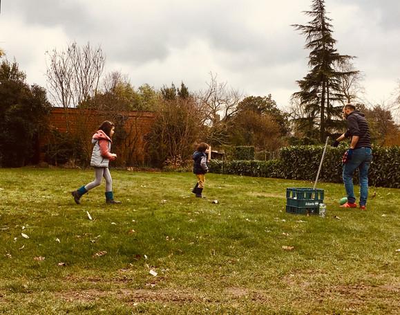 Temps d'école : cours de sport!