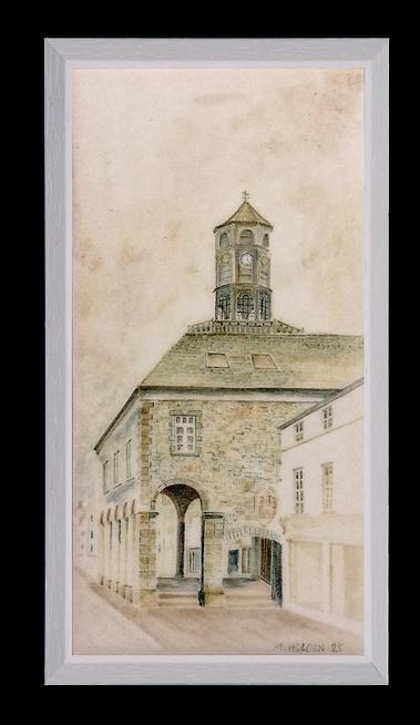 The Tholsel (City Hall) Kilkenny.
