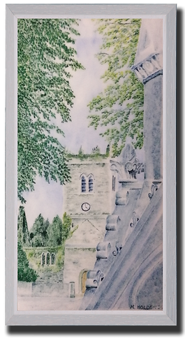 The Fountain and St Mary's Inistioge No.