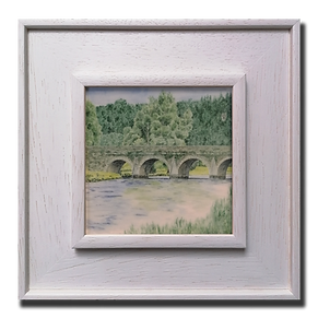 Inistioge Bridge with Mt Sandford lookin