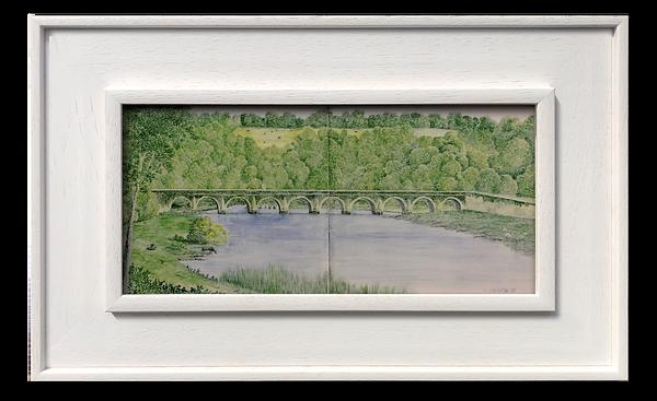 Ten Arch Bridge at Inistioge c. 1920s.