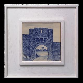 Kells Priory Entrance to Burgess. cobalt