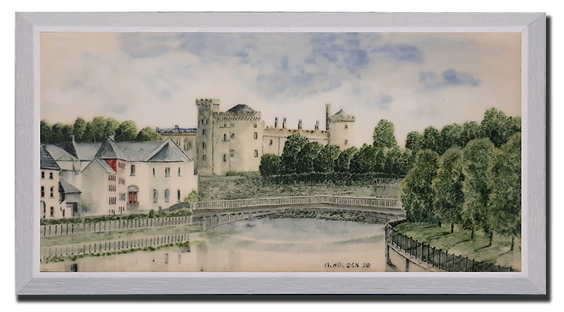 Kilkenny Castle and John's Bridge.