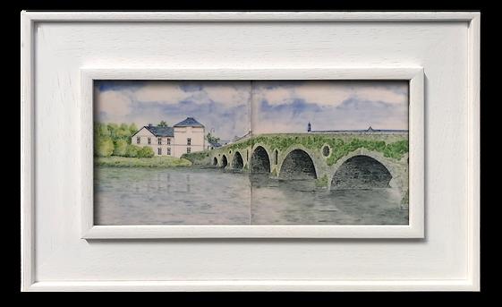 Graiguenamanagh Bridge over the River Ba