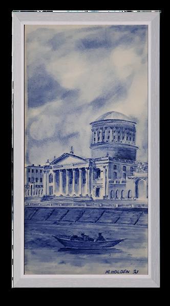 The Four Courts Dublin c 1800s.