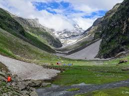 jwara campsite at hampta pass trek