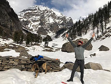 snow trek to chikka hampta pass snow trek