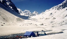 Snow camping at Sheogoru hampta pass trek