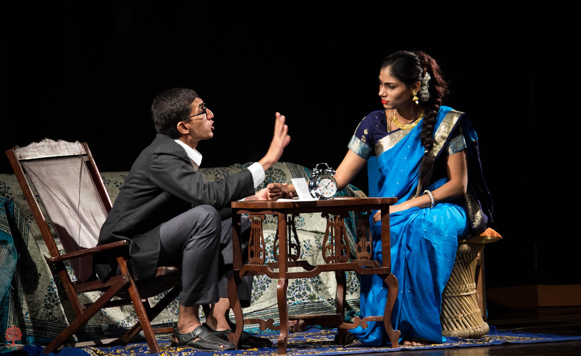 Rakesh Palisetty and Nisa Shetty in The