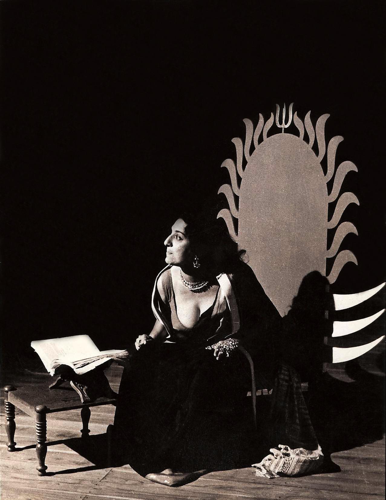 JV as Ravana- New York 1973