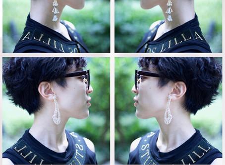 My skin earrings. スキンカラーイヤリング。/ YURIKALAMODE vo.9