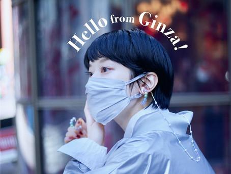 """Hello from Sparkling Ginza! キラキラ輝く銀座からハロー!""/ YURIKALAMODE vo.31"