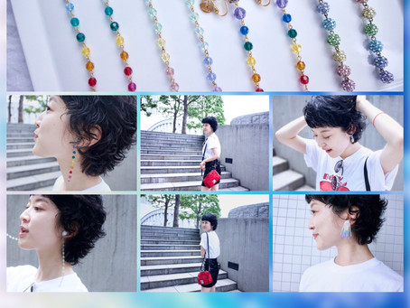 どのレインボーにする?JULICA Rainbow Earrings / YURIKALAMODE vo.1