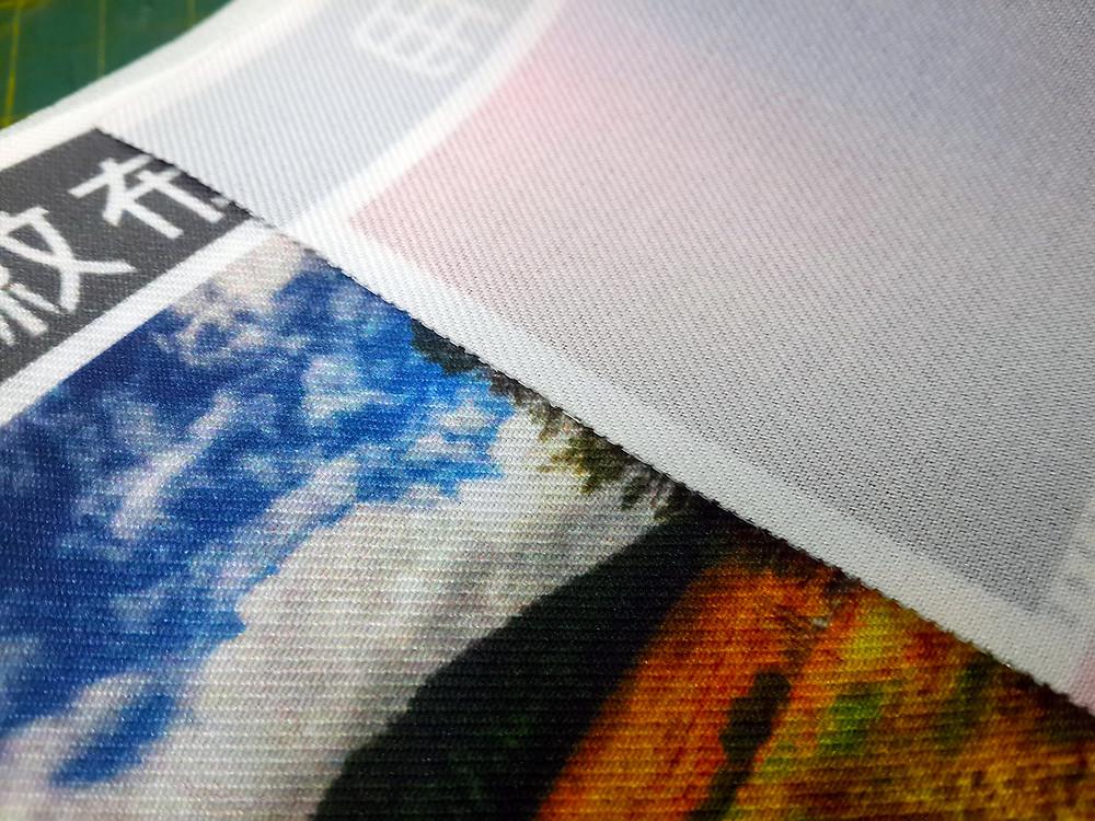 熱昇華專用斜紋布
