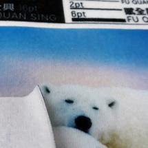 熱昇華專用布 雙面刷毛布