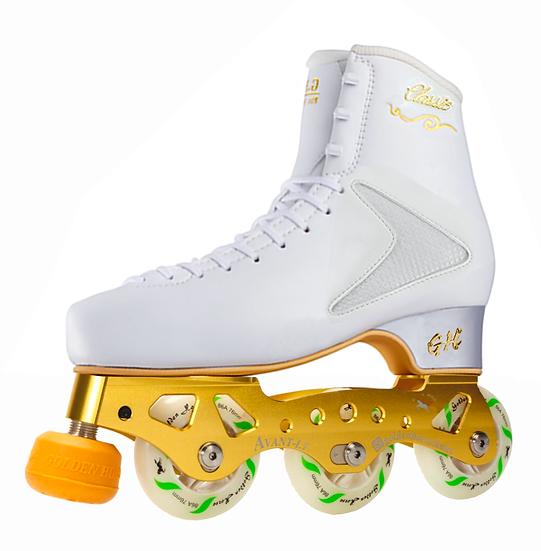 G H Classic + Avant LT Titanium Inline Figure Skates