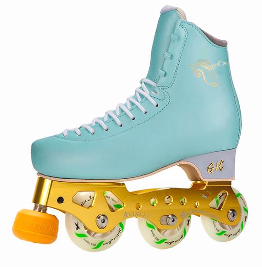 G H Glide LT + Avant LT Inline Figure Skates