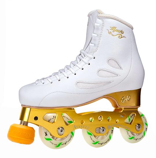 G H Maestro + Avant LT Titanium Skates
