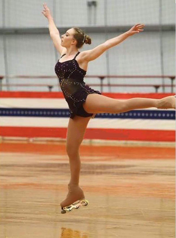 Roller skates for figure skating - Another Inline Figure Skater Joins Team Usa