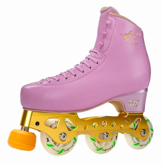 G H Loop LT + Avant LT Titanium Inline Figure Skates