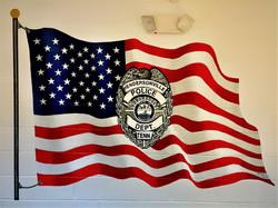 Police Mural 8ftx5ft