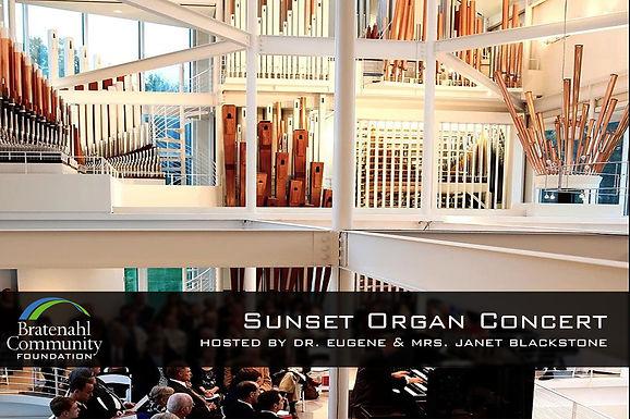 Sunset Organ Concert