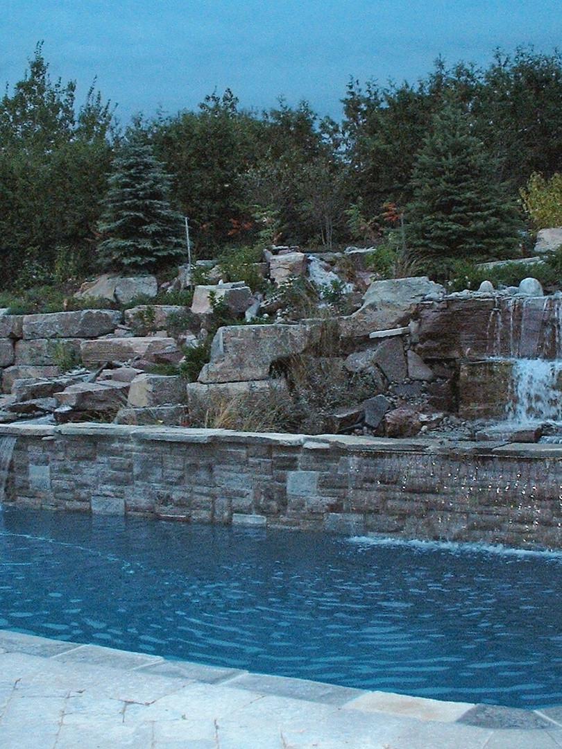 Waterfalls & Pool