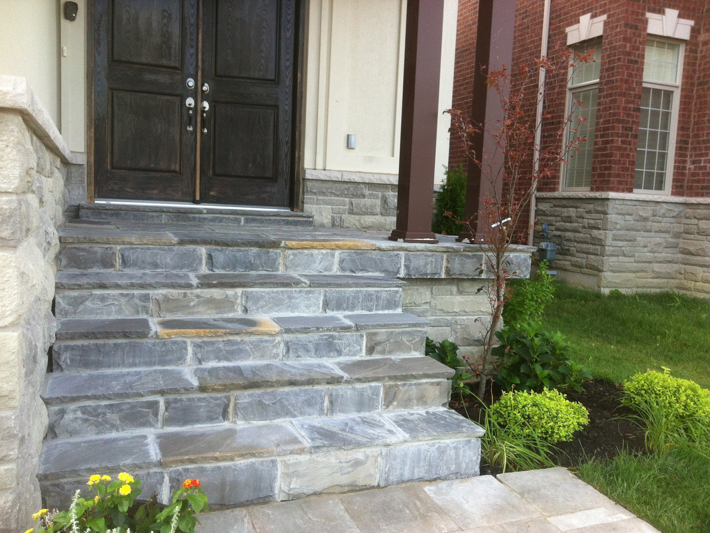 Porch & Front Steps