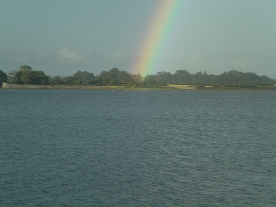 When A Rainbow Shines Over Broadmeadow Estuary