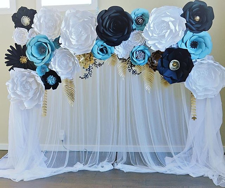 Baby Shower Backdrop    The Backdrop Is Available For Rent (