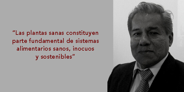 Ingeniero Agrónomo y Fitopatólogo Alberto Jiménez Saavedra