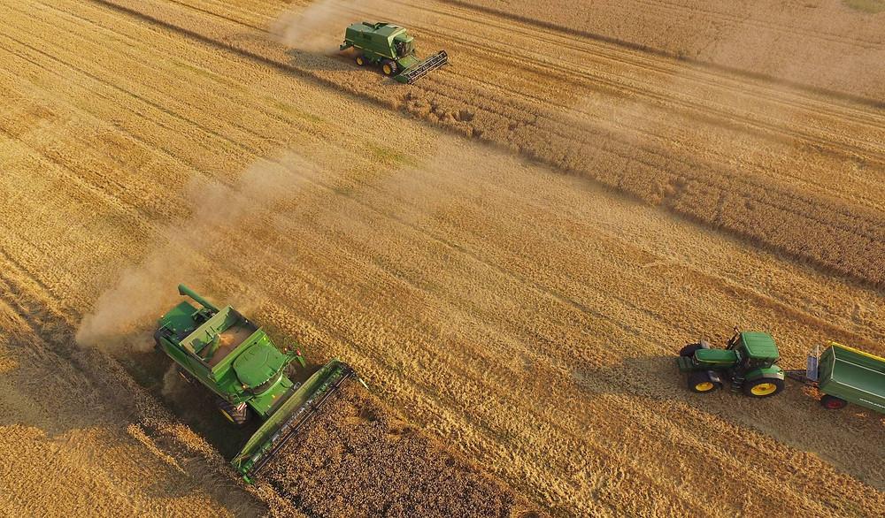 Una granja cooperativa en Alemania. SEAN GALLUP GETTY