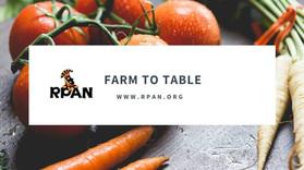 #FarmToTable... ¿Ruta clave para construir sistemas alimentarios saludables y sostenibles?