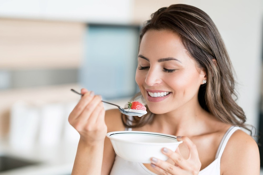 El yogur es uno de los alimentos más ricos en probióticos.