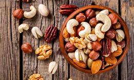 El consumo de frutos secos retrasa la aparición de algunas enfermedades
