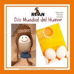 Campaña por el Día Mundial del Huevo - 9 de octubre 2020