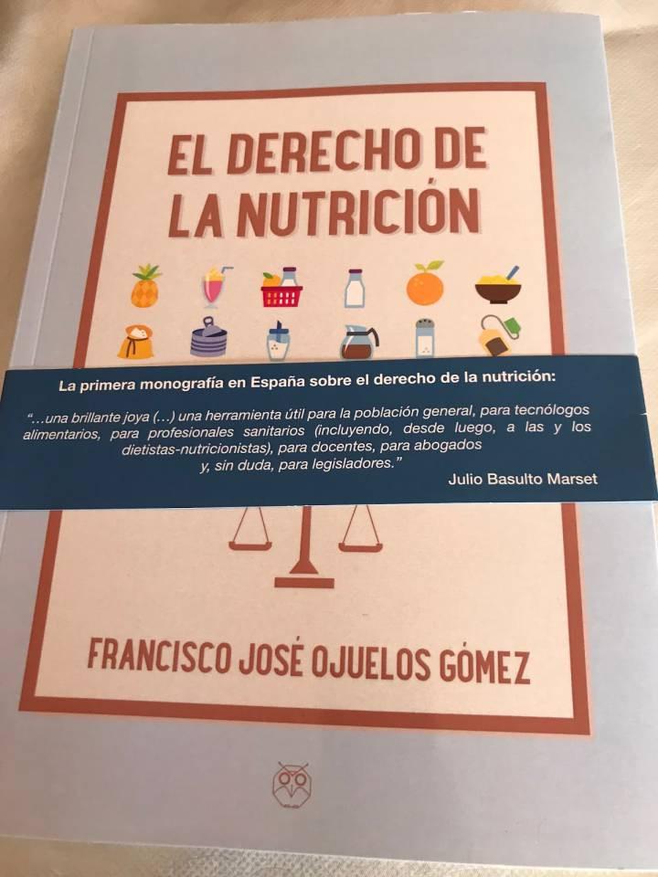 Portada del libro 'El derecho de la nutrición'