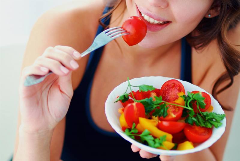 Las frutas y las verduras son los alimentos que mayor proporción de agua tienen