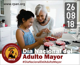 Feliz día nacional de la Persona Adulta Mayor