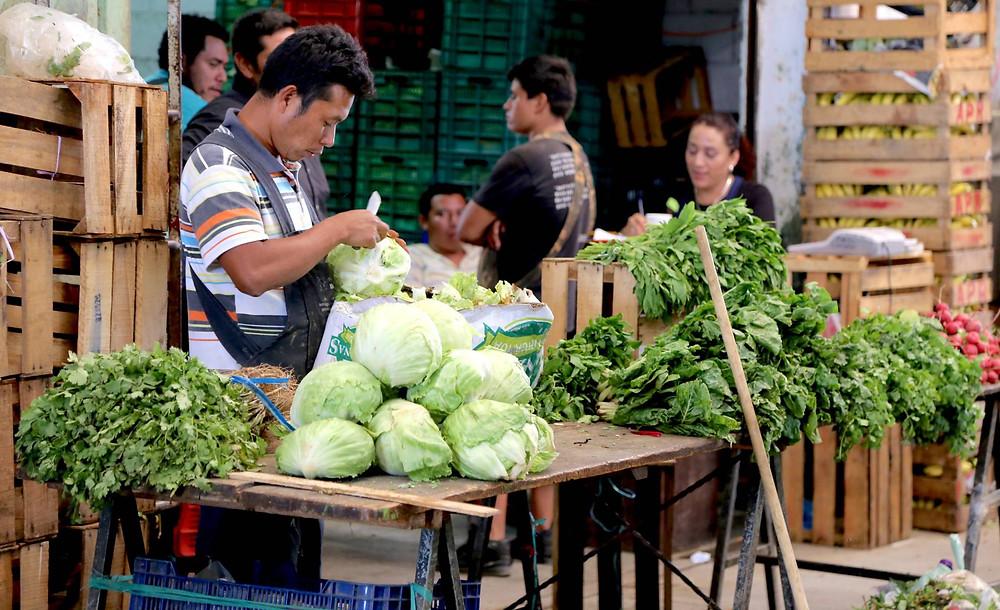 Vendedores de alimentos en Chiapas, México. JESSICA BELMONT (BANCO MUNDIAL)