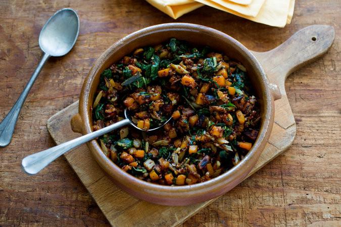 En el estudio, quienes comían muchos vegetales en vez de alimentos procesados perdieron peso sin preocuparse mucho por las porciones o las calorías ingeridas. Credit Andrew Scrivani para The New York Times