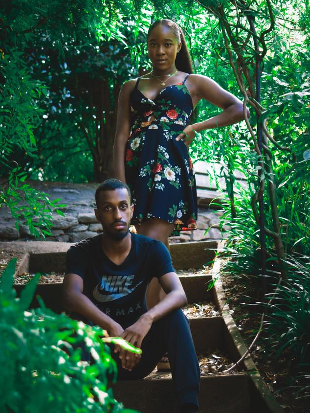 Fashion Models Nicole and Mo
