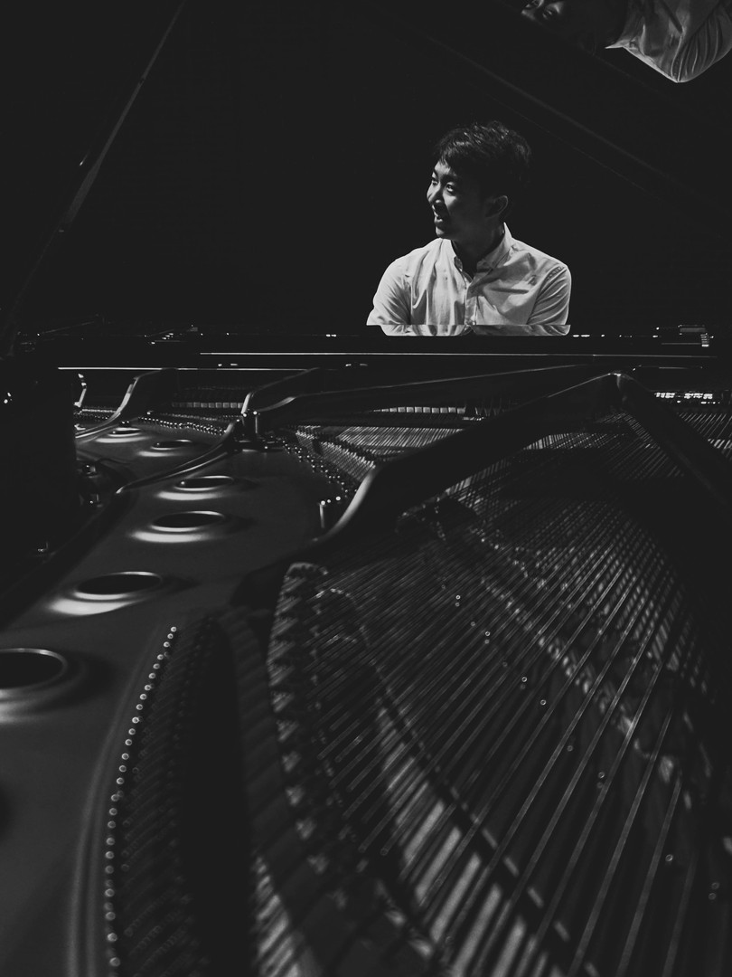 Classical piano player Steinway