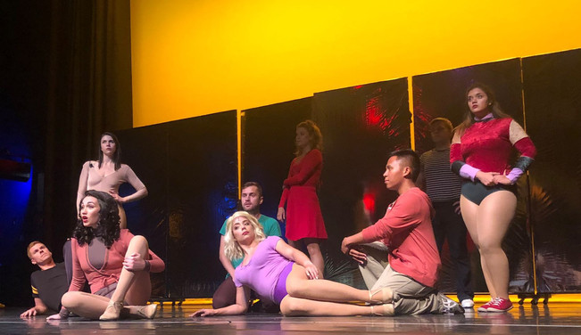 """""""A Chorus Line""""- Dr. Phillips Center for Performing Arts 2019"""