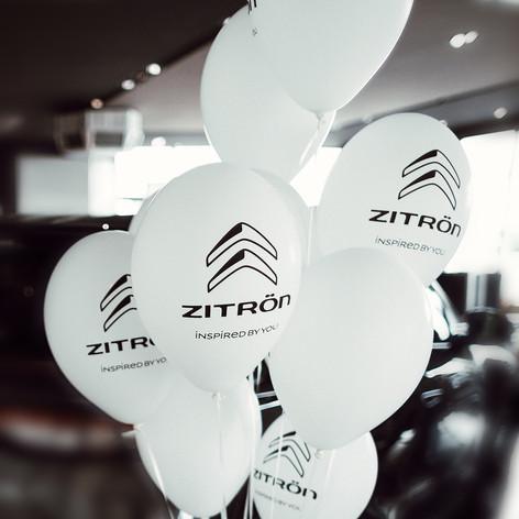 Zitrön Ballons