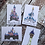 Thumbnail: Disney Castle inspired postcard prints