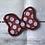 Thumbnail: Polka Dot Bow design Ear/Bow holder