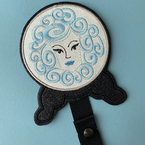 Madame Leota design Ear/Bow holder